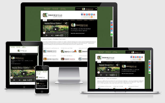 responsive design example neave group