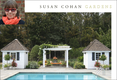 Susan Cohan chose to use her own name when naming her landscape company