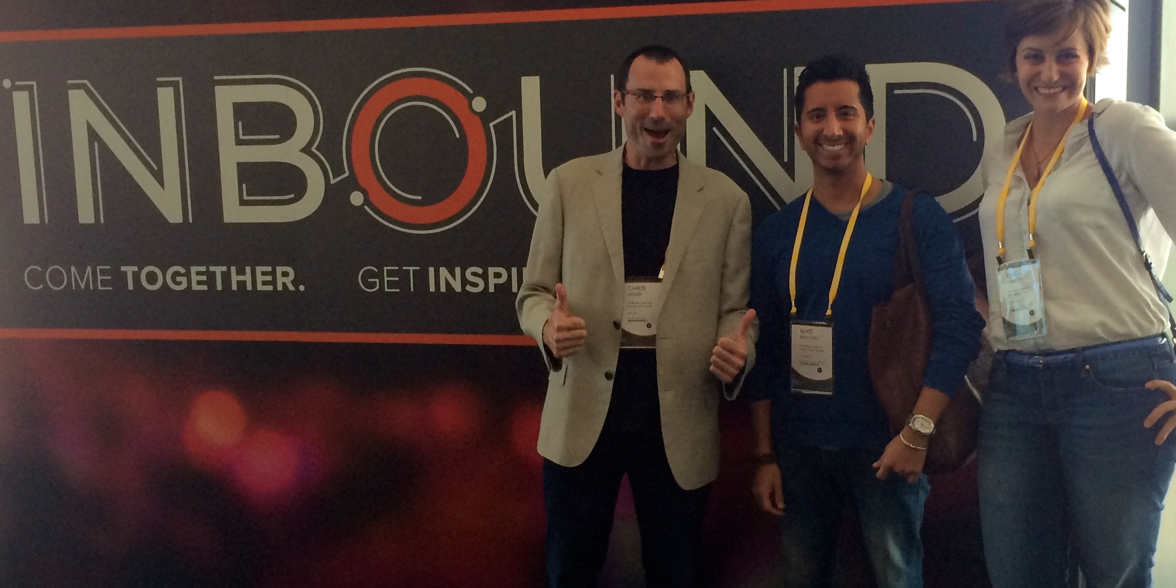Landscape Leadership team at Inbound 2014
