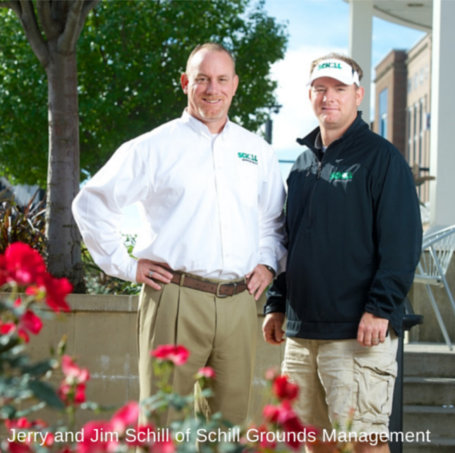 Jerry and Jim Schill of Schill Grounds Management