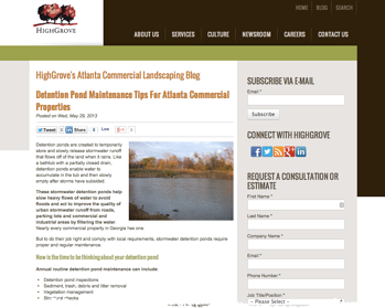 Blogging tips for lawn care and landscaping companies.