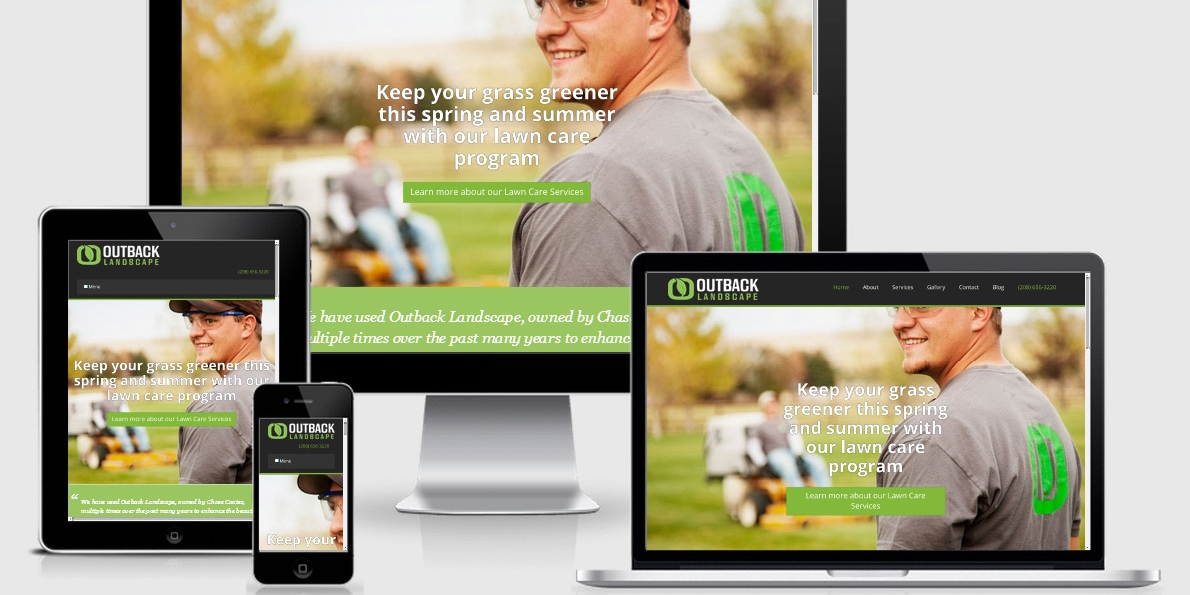 Marketing a landscaping business requires not just a website, but a great strategy.