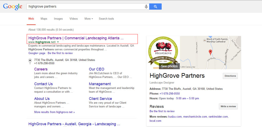 SERPS and HighGrove Partners