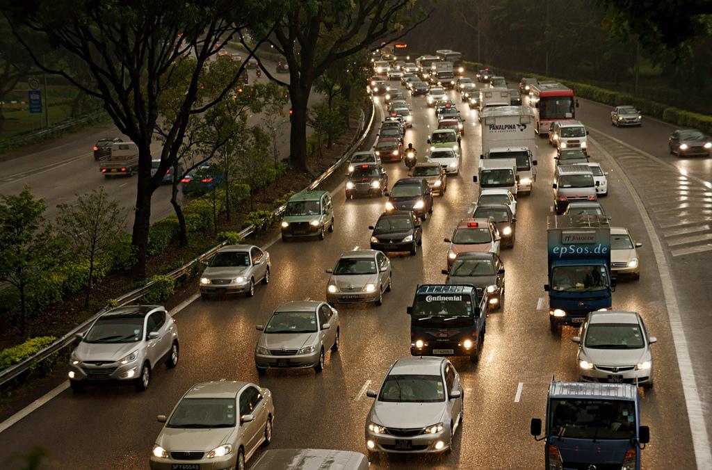 website traffic jam