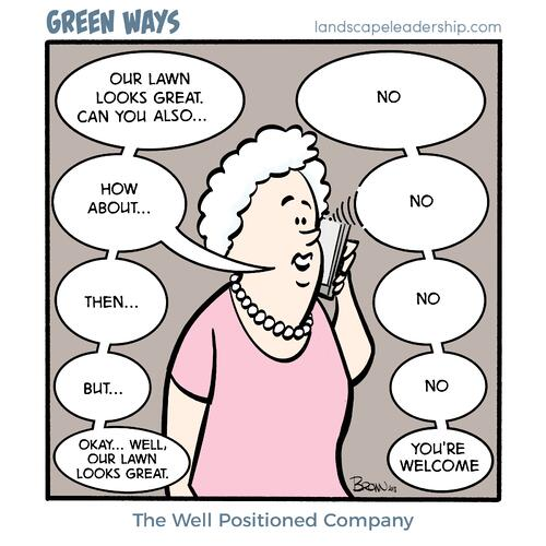 Green Ways cartoon