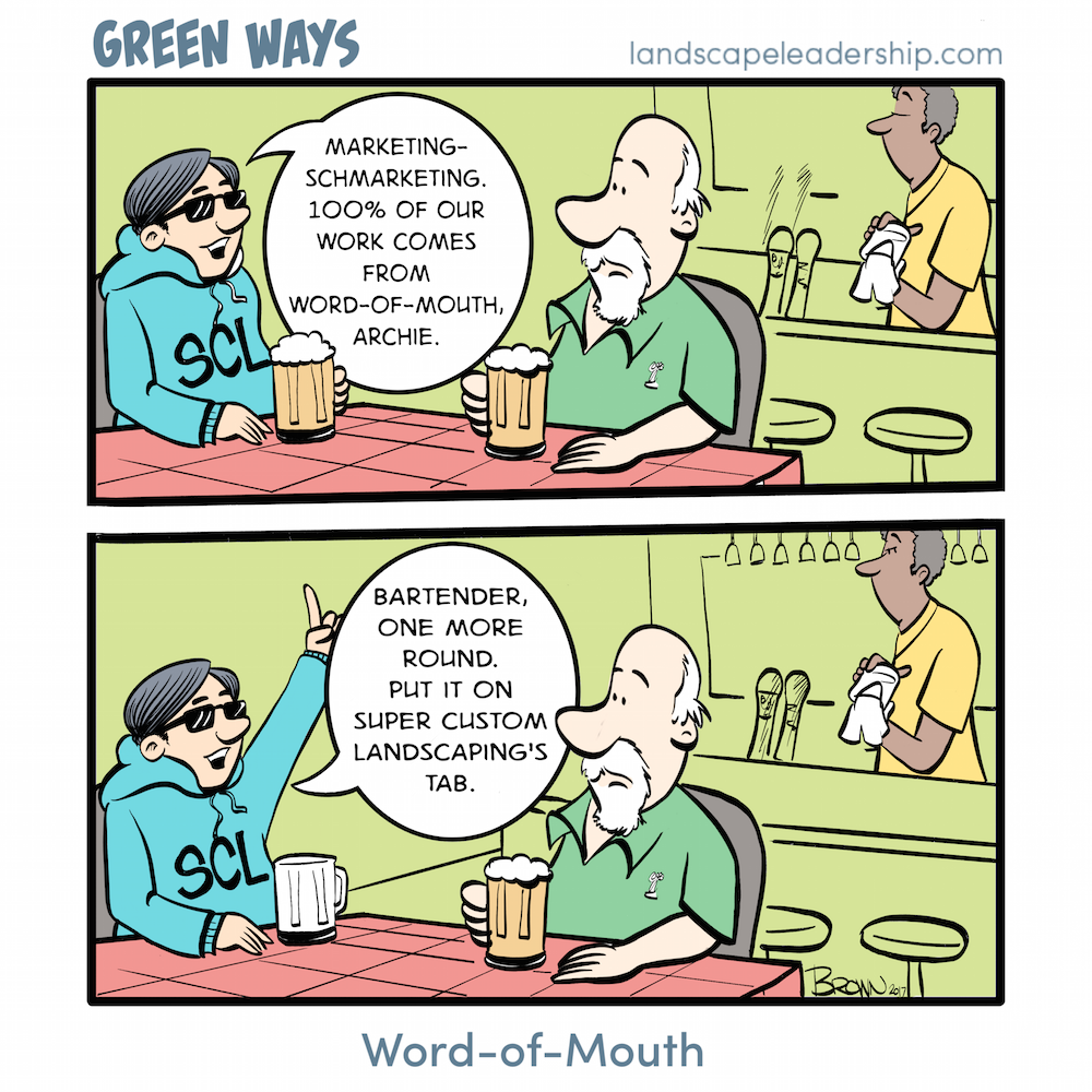 Word of mouth and referral programs