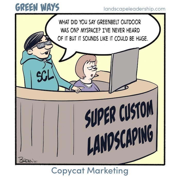 Green Ways comic Copycat Marketing