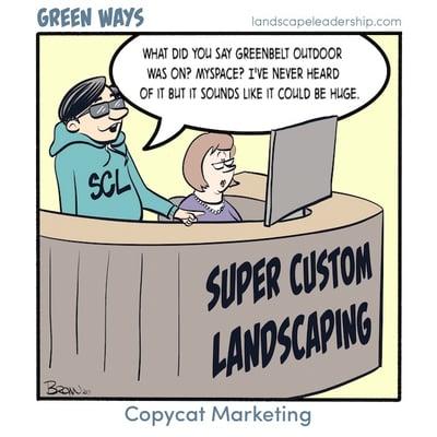 copycat marketing in the green industry