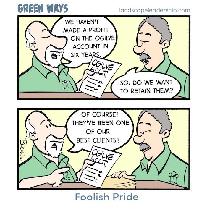 Foolish Pride, Green Ways comic