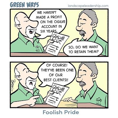 Foolish Pride, Green Ways comic