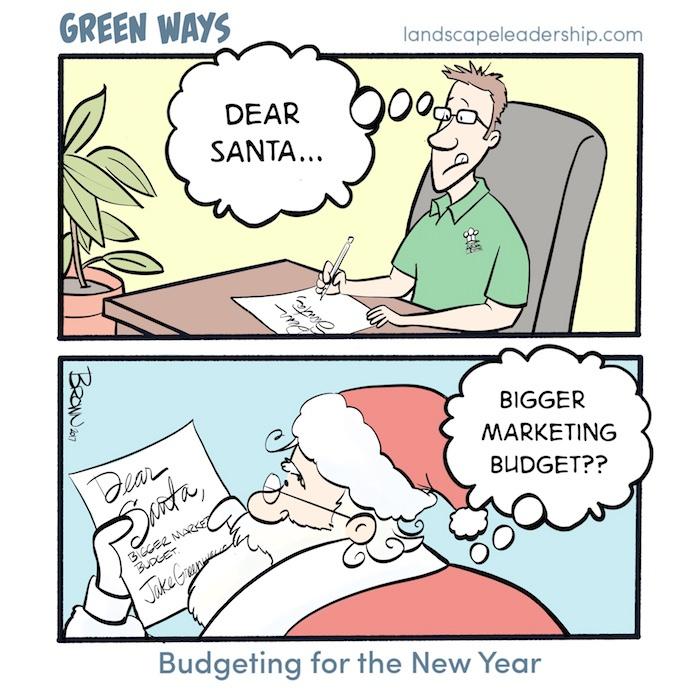 Green Ways Budgeting for the New Year