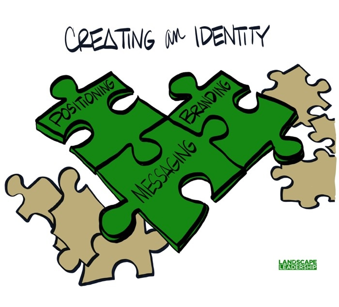 To create an identity you need branding, positioning and messaging working together