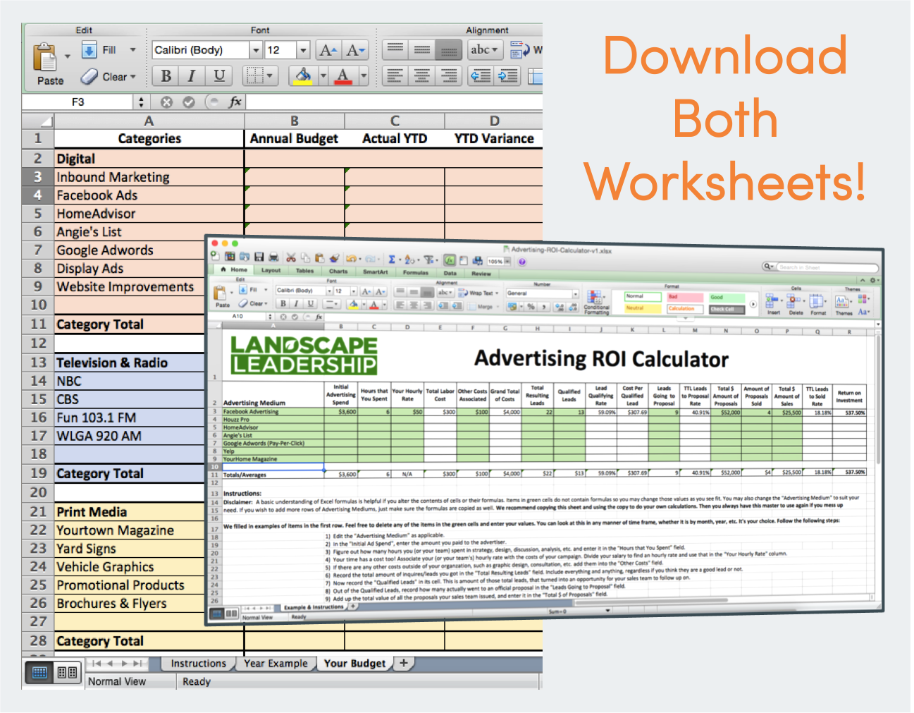 Worksheets Roi Worksheet worksheets marketing roi calculator budget worksheet first name