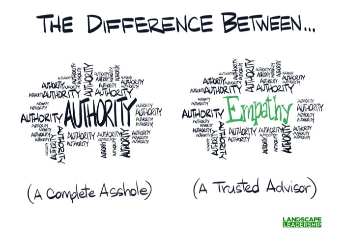 asshole vs trusted authority