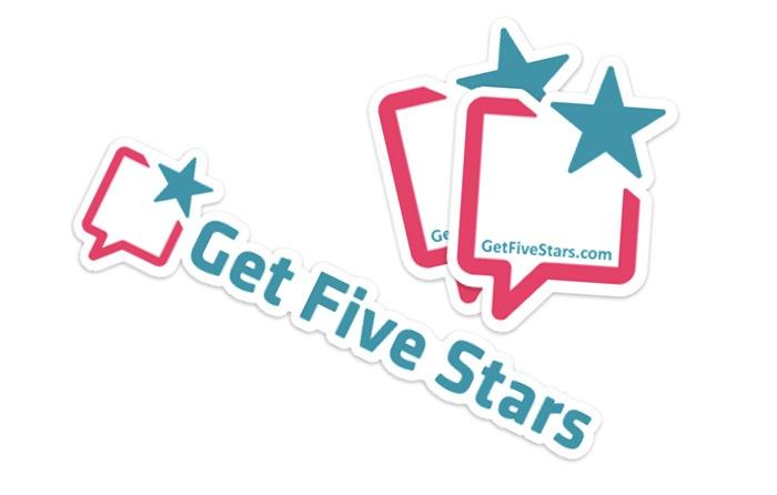GetFiveStars stickers