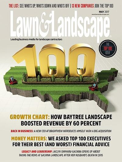 May 2017 Lawn & Landscape cover