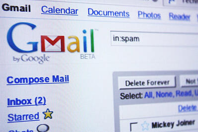 Email marketing and spam with Gmail