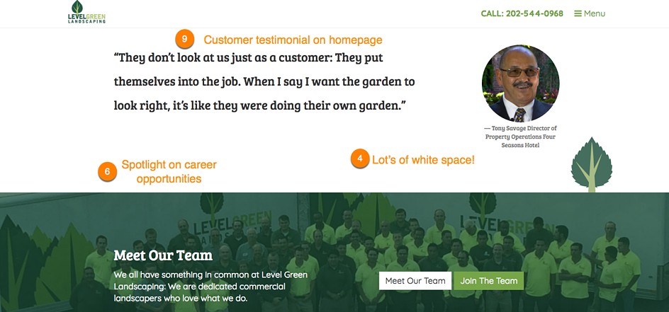 Web design trends for lawn care and landscaping websites