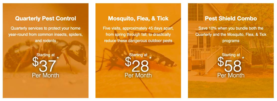 Joshua Tree Pest Programs and Pricing