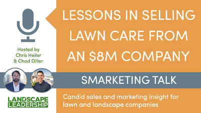 Lessons in selling lawn care from an 8 million dollar company.001