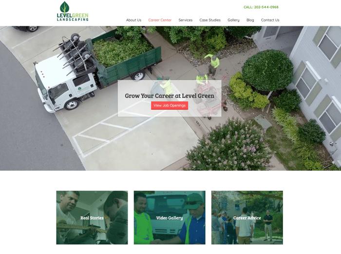 Level Green Landscaping - Career Center