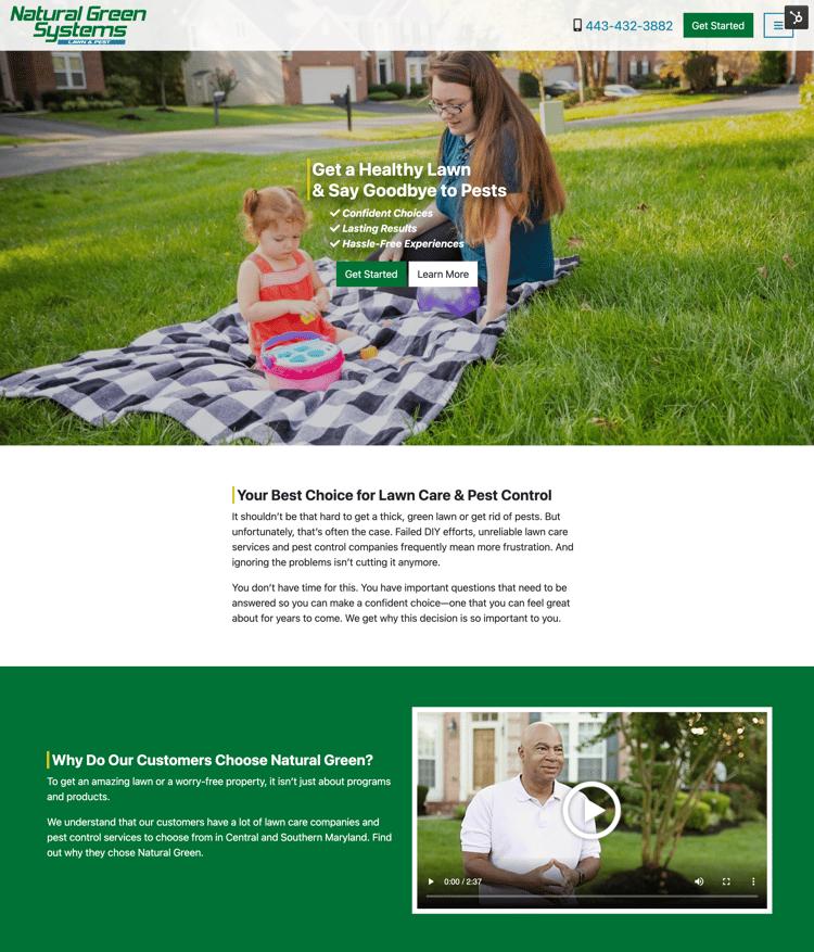 Natural Green homepage-1
