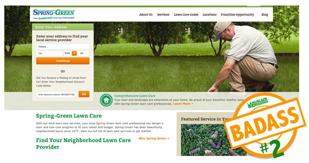 Best landscaping and lawn care websites of the Lawn & Landscape Top 100 List.