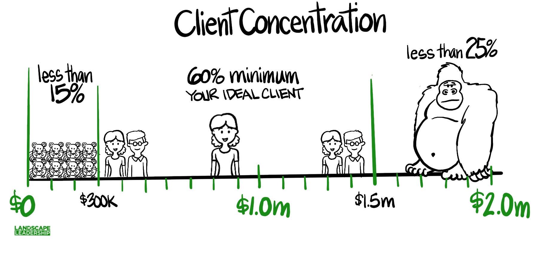 ideal client concentration