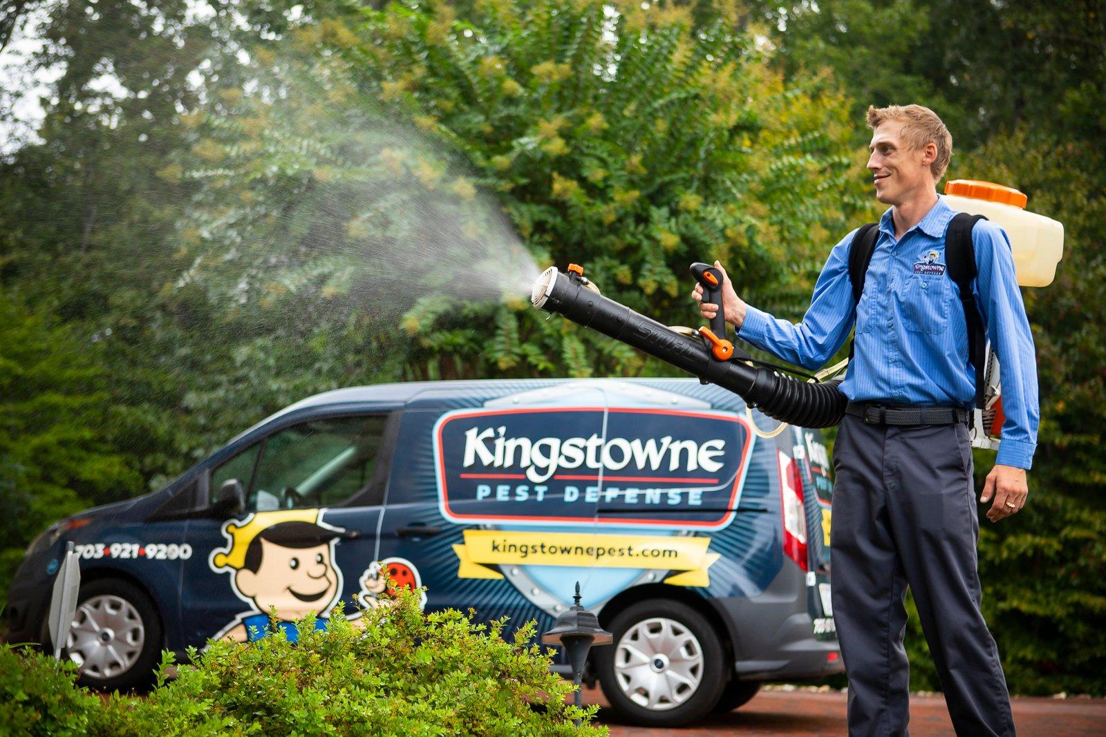 kingstowne pest defense van
