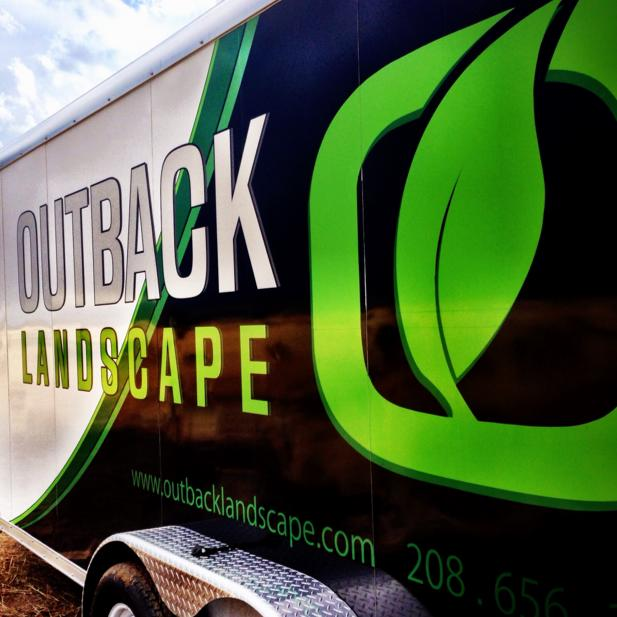 Tips, costs, and ideas for landscaping and lawn care vehicle wraps.