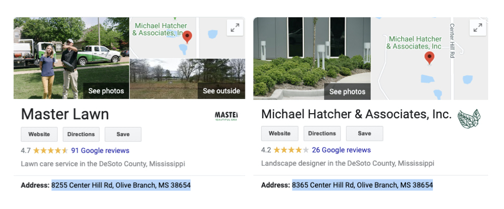 master lawn hatcher addresses