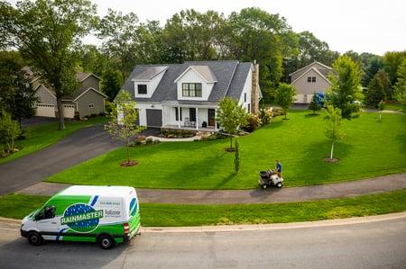 rainmaster lawn care van