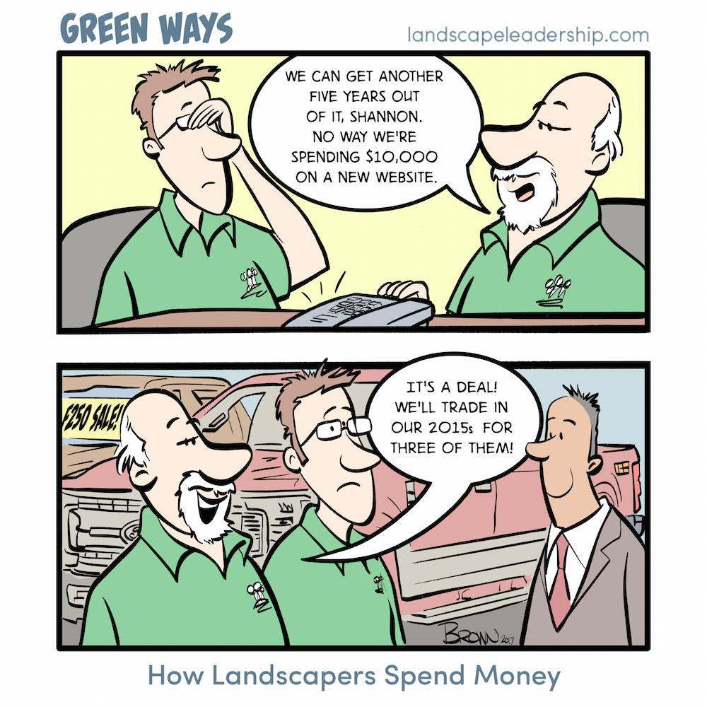How Landscapers Spend Money