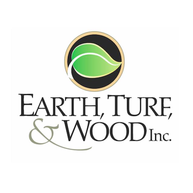 Earth, Turf, & Wood logo