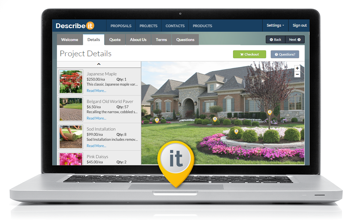 Introducing Describeit: Landscape Sales and Proposal Software