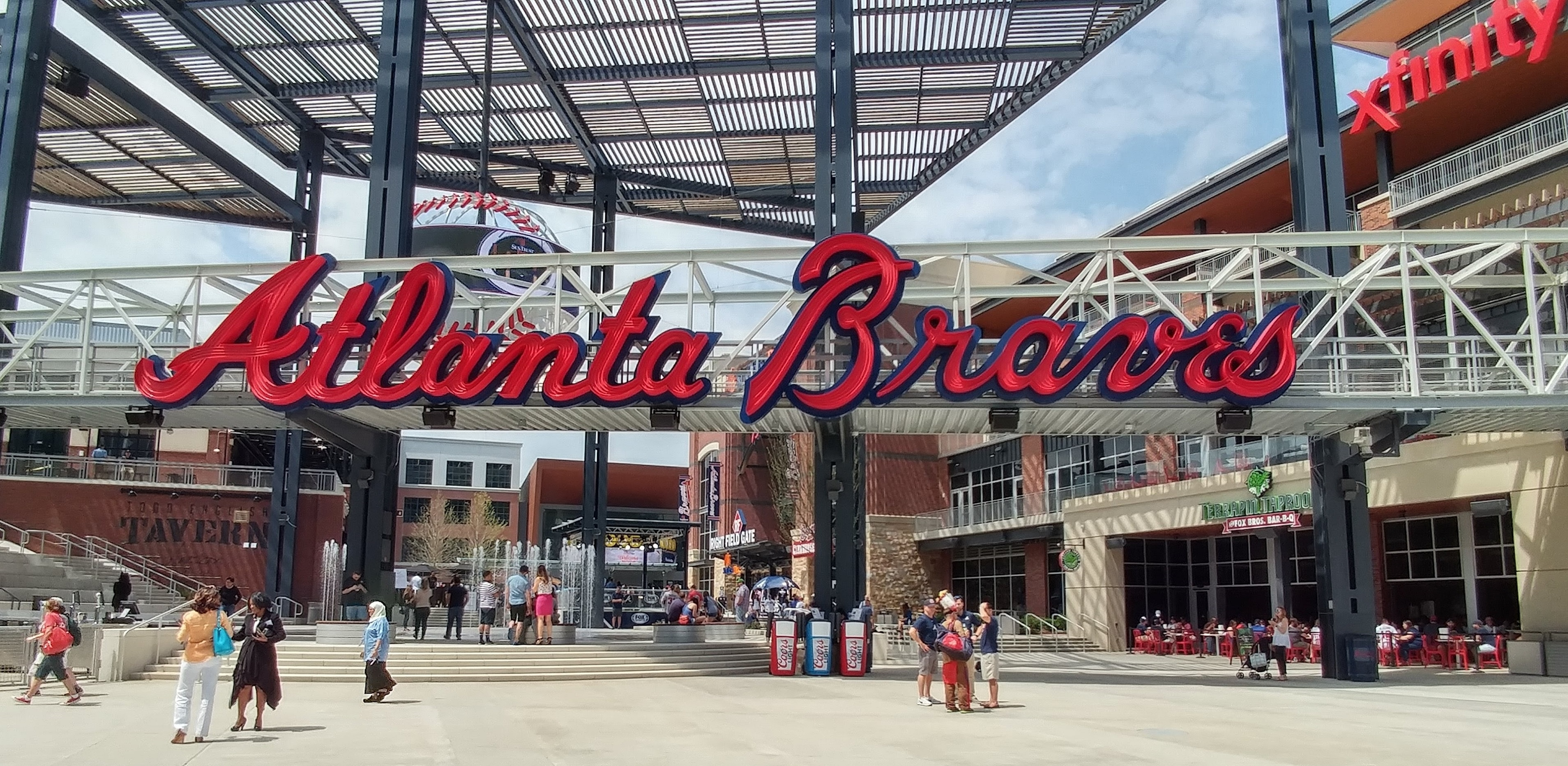 Atlanta Braves SunTrust Park Entrance