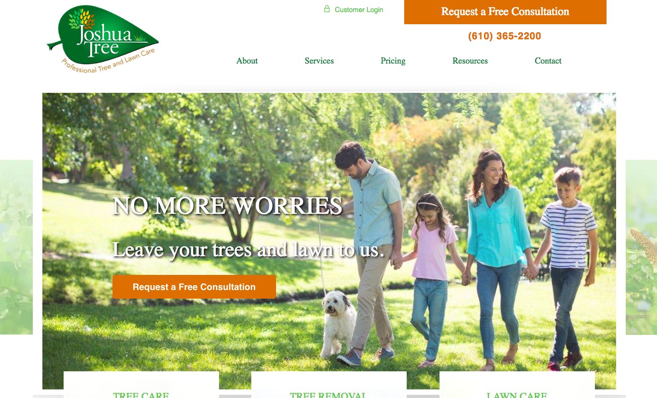 Lawn care marketing case study video